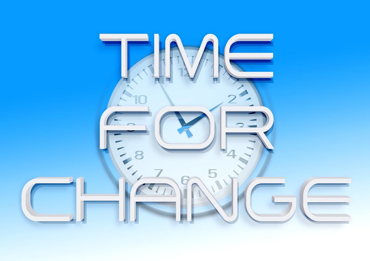 change-時機