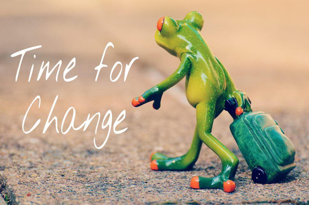 change-蛙